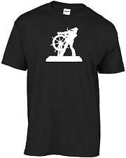 Sailing, sail, sailor silhouette t-shirt