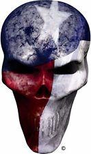 Texas flag skull window golf cart go kart vinyl graphic decal