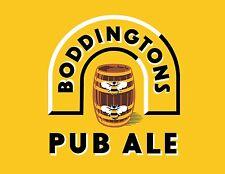 BODDINGTONS Sticker Decal *DIFFERENT SIZES* Pub Ale Bumper Window Bar Wall etc.