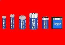 Piles Varta High Energy LR3 AAA / LR6 AA / 9V 6LR61 / LR14 C / LR20 D / 3LR12