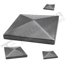Edelstahl Endkappe Pyramidenkappe Abdeckkappe 240 K geschliffen V2A