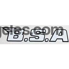 BSA modern downtube (or chaincase) decal.
