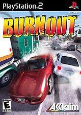 Burnout, Acceptable PlayStation2, Pc Video Games