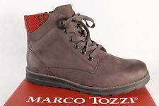 Marco Tozzi 25208 Botas mujer, Botines, botas gris NUEVO