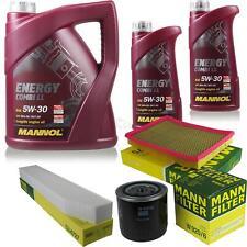 Ölwechsel Set 7L MANNOL Energy Combi LL 5W-30 + MANN Ölfilter Service 10047296