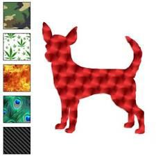 Chihuahua Dog Decal Sticker Choose Pattern + Size #1934