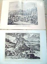 1900 LOTTO TAVOLE A COLORI TERREMOTO TOKIO 1650 + DIGNITARI GIAPPONESI IN OLANDA