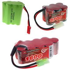 7.2v 8.4v 9.6v 10.8v vapextech nimh vol rc pack batterie avec custom connecteur