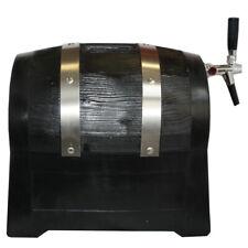 Zapfanlage Trockenkühler in Bierfassform 60l Hahn,Tropfblech Durchlaufkühler