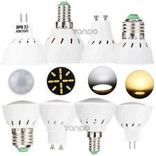 GU10 MR16 E14 SES E27 ES LED FOCO 4w 5w Bombilla 7030 SMD Luz Blanca Lámpara