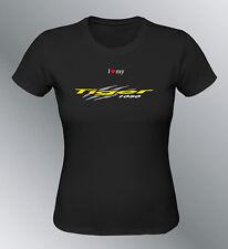Tee shirt personnalise Tiger 1050 S M L XL femme moto
