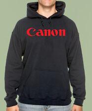 Black Hooded Sweat Shirt, Classic Camera, Photo, Professional, Canon, Gildan