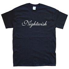 NIGHTWISH T-Shirt Taglia S M L XL XXL Colori Nero, Bianco