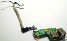 HP DV6000 V6000 DC IN Power Jack USB Board DA0AT8TB8F2