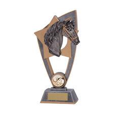 Star Blast Horse Equestrian Trophies Horses Head Award 3 sizes FREE Engraving