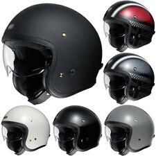 SHOEI J.O. RAT OFF HAWKER Open Face Motorbike Motorcycle Helmet Cruiser Classic