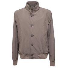 6542V giubbotto antivento uomo HERNO bomber light brown windstopper jacket man