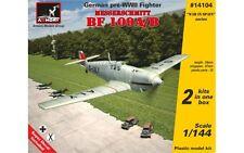 MESSERSCHMITT BF 109A/B, GERMAN PRE-WWII FIGHTER 1/144 ARMORY 14104