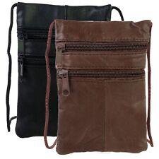 Lorenz Soft Leather Neck Passport Holder/Pouch and Purse