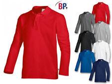 BP Poloshirt 1629 181 Unisex Langarm Langarmshirt Damenshirt Herrenshirt XS-4XL