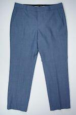 Banana Republic Womens Size 14 Pants Blue Wool Ryan Work Career Slim Fit New NWT
