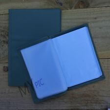 HIGHLANDER WATERPROOF DOCUMENT HOLDER - A6 or A5 olive army wallet plastic nirex