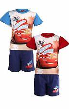 Garçons disney cars short pyjama lightning mcqueen cars pyjama âge 3 à 8 ans