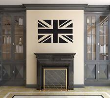 Union jack wall sticker / Autocollant. pavillon du Royaume-Uni (UK) la Grande-Bretagne (gb)