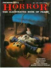 Horror-The Illustrated book of Fears # 1 (estados unidos, 1989)