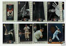 1994 Upper Deck Mickey Mantle Heroes Set - 10 Cards
