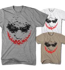 Herren T-Shirt Psycho bat Joker Comic Super Hero Film Serie NEu S-5XL PB10117