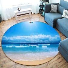 3D Blu Oceano 22 Pavimento Antiscivolo Tappeti Elegante Tappeto IT Carly