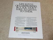 Marantz CD-94 CD PLayer Ad, 1988, 1 pg, Article, Beautiful Ad!