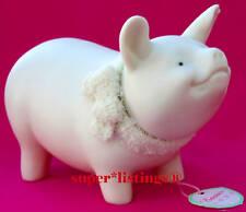 Dept. 56 Easter Pig Large 1998 Bisque Porcelain 23773 Retired NIB