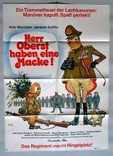 (P10) Kinoplakat Herr Oberst haben eine Macke - 1974 Aldo Maccione