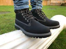 DarXGB Hombres Botas con cordones de combate de invierno al Tobillo Zapatos Trabajo Senderismo Tobillo Alto Militar