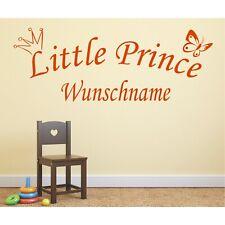 Mural Little Princess nom Wunschname personnalisable STICKER Murale 2