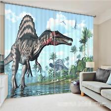 3D Big Dinosaur Blockout Photo Curtain Printing Curtains Drapes Fabric Window CA