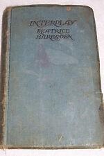 First Edition Interplay Beatrice Harraden Antique Collectors Hardback Novel Book