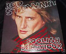 Rod Stewart - Foolish behaviour CANADIAN VINYL LP & POS