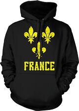 Fleur-de-lys French Pride France Emblem France Moderne Hoodie Pullover