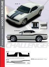2009-2014 Dodge Challenger Hood / Beltline Stripe Kit