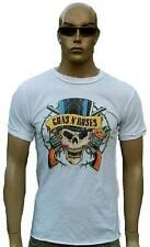 RARE Amplified Vintage GNR G. N ROSES PIRATA SKULL ROCK STAR T-shirt S M L XL XXL