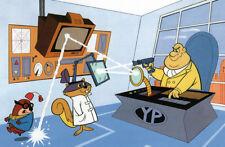 SECRET SQUIRREL & MOROCCO MOLE PRINT Hanna Barbera