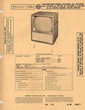 Hallicrafters 21K330BA MA 21K340BA MA TVs Photofact