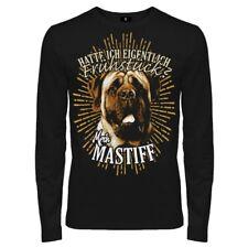 Langarmshirt English Mastiff Dogs Rasse Molosser Begleithunde Schutzhunde