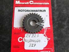 MINARELLI APRILIA MALAGUTI RV4 RV3 rv 4 INGRANAGGIO cambio motore Z27 gearbox