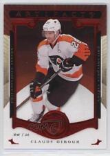 2015 Upper Deck Artifacts Ruby 129 Claude Giroux Philadelphia Flyers Hockey Card