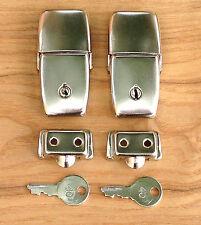 Top Box Locks Craven Pannier Type Topbox Lock - Vintage Luggage - Single or Pair