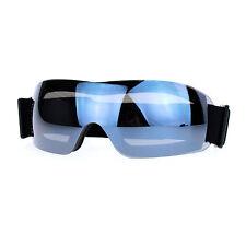 Ski Snowboard Sports Goggles Foam Padding Rimless Small Mirror Lens